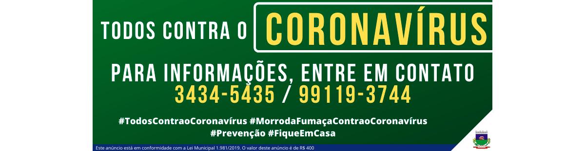 Prefeitura coronavírus